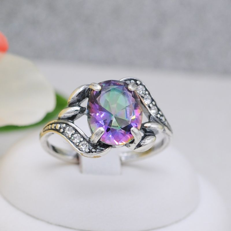 Кольцо бижутерия серебрение Арт. К529