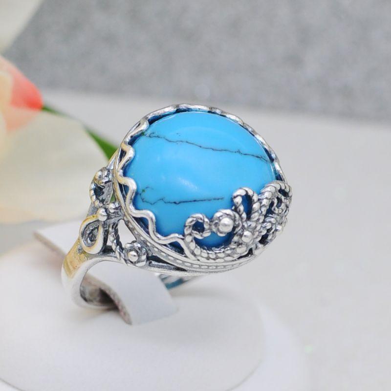 Кольцо бижутерия серебрение (Арт.К549)