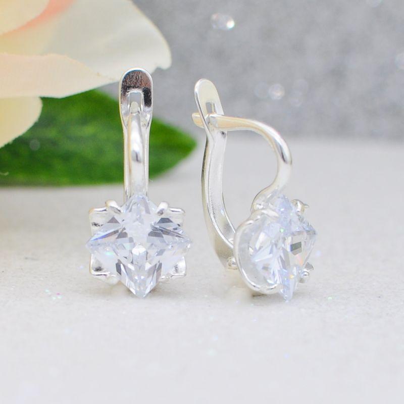 Серьги бижутерия серебрение Арт. С1111
