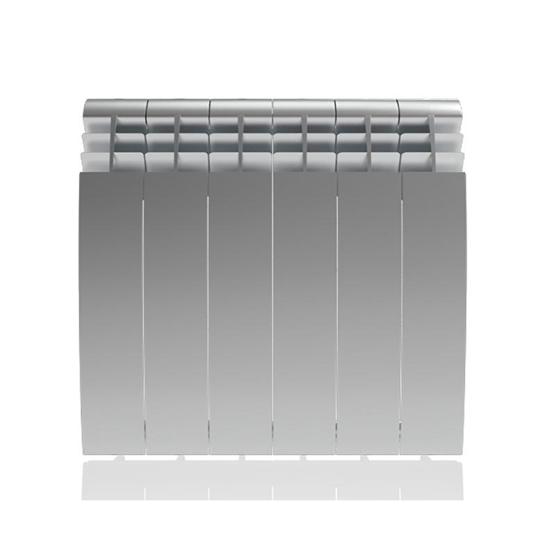 Настенный электрический радиатор отопления РЭБ 6 секций х 350, серый