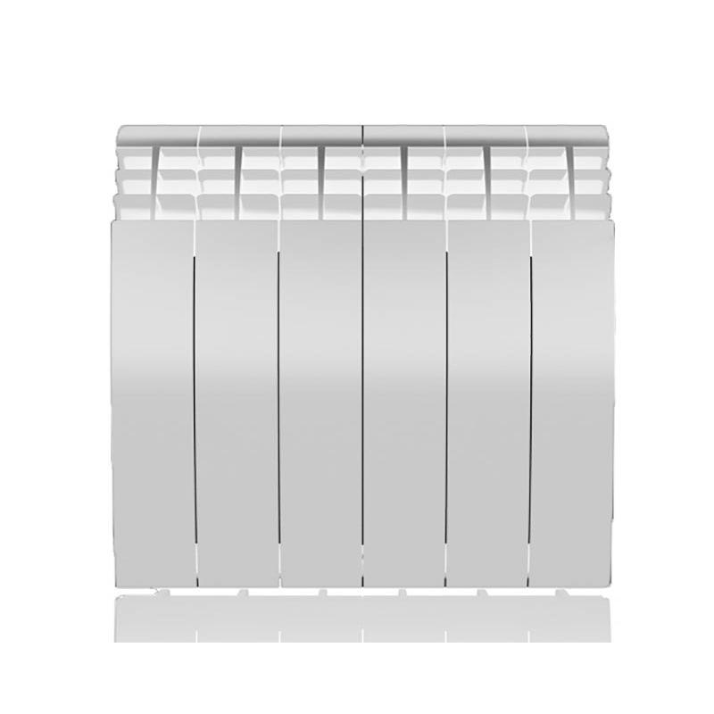 Настенный электрический радиатор отопления РЭБ 6 секций х 350, белый