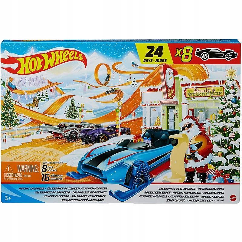 Рождественский календарь Hot Wheels GTD78