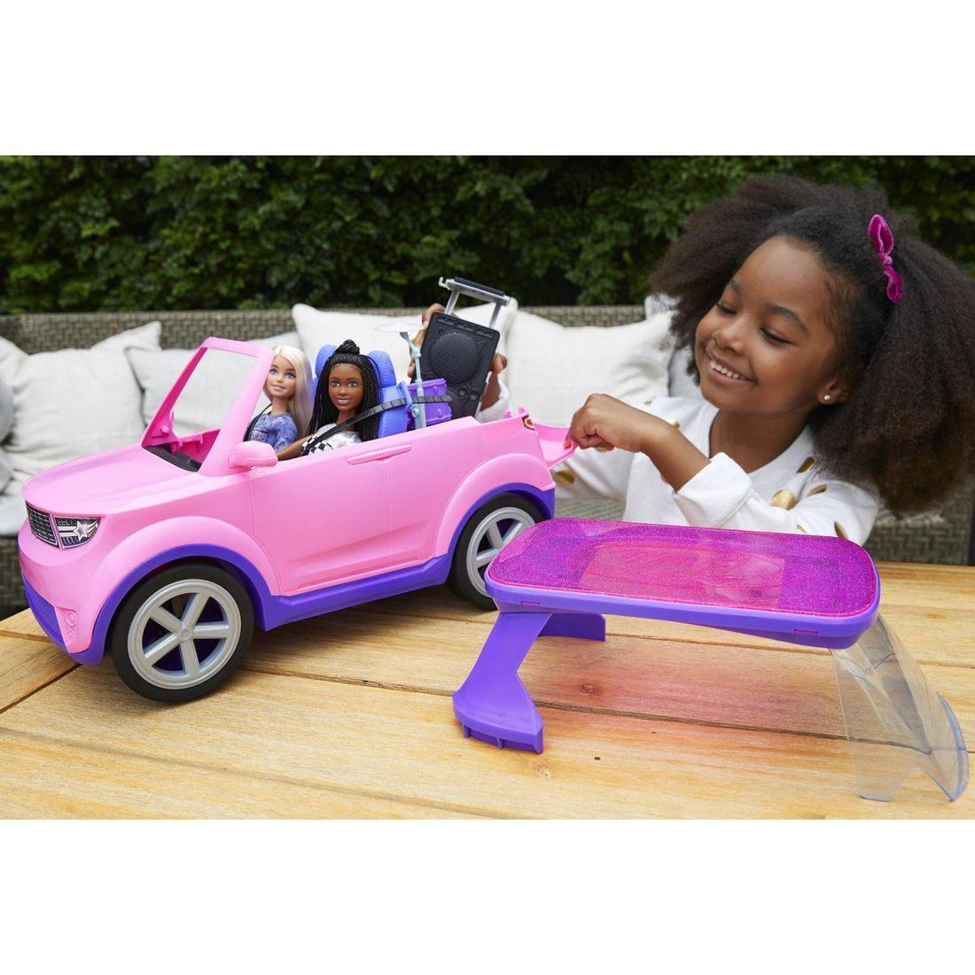 Набор игровой Barbie Большой город Большие мечты Транспортное средство GYJ25