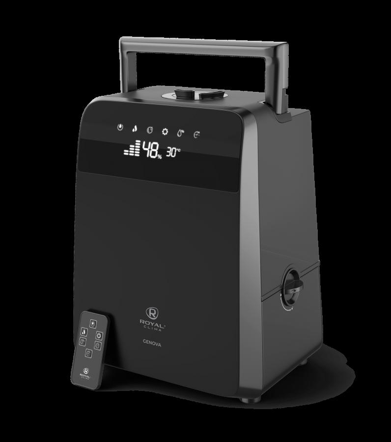 Увлажнитель воздуха ультразвуковой Royal Clima GENOVA RUH-G450/5.5E-BL, 5,5 л, ионизация