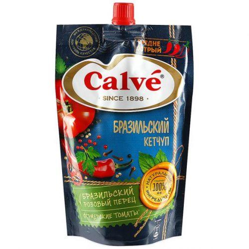 Ketçup Calve orta acılı Braziliya 350 gr