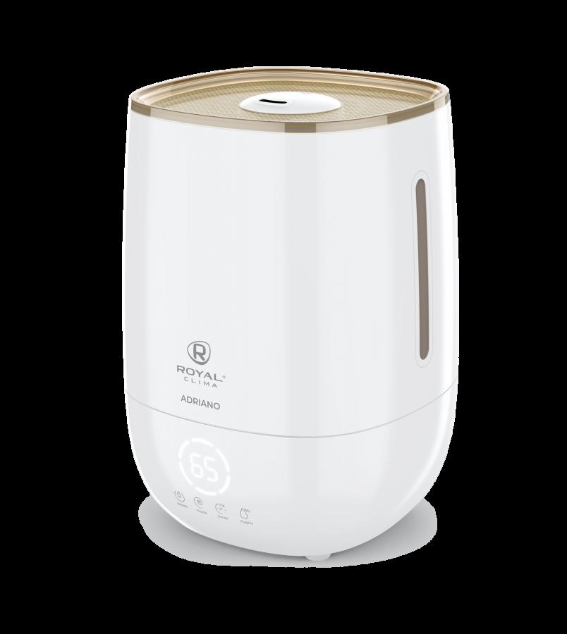 Увлажнитель воздуха ультразвуковой Royal Clima ADRIANO Digital RUH-AD300/4.8E-WG, 4,8 л, 20 м2, ароматизация