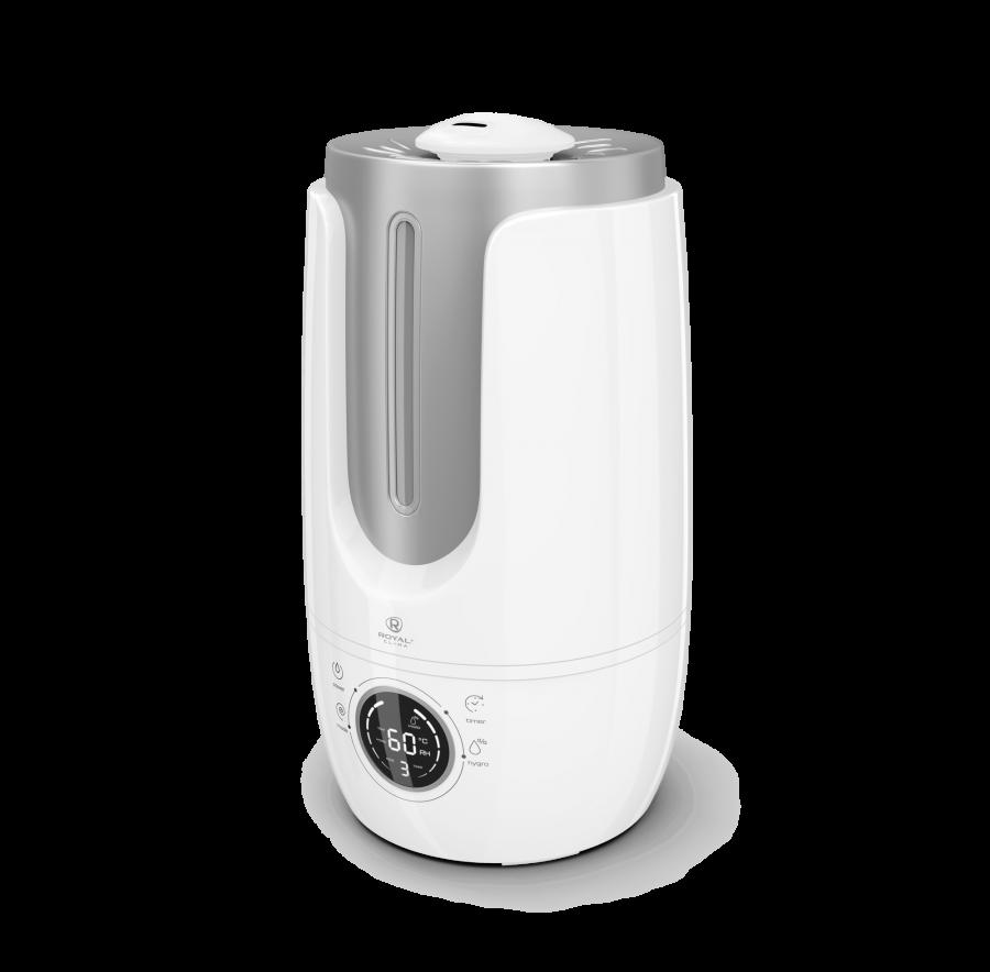 Увлажнитель воздуха ультразвуковой Royal Clima ANTICA RUH-AN300/4.0E-SV, 4 л, 30 м2, ароматизация