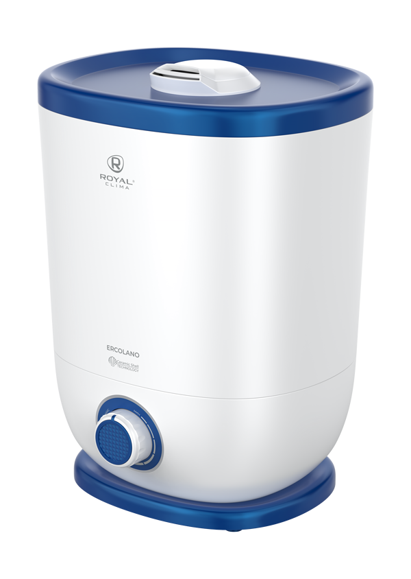 Увлажнитель воздуха ультразвуковой Royal Clima ERCOLANO RUH-ER300/5.0M-BU, 5 л, 30 м2, ароматизация