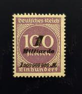 1 миллиард 1923 г. Германия. Веймарская республика