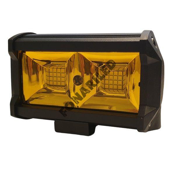 Светодиодная желтая фара 96 ватт FRY32-96W flood