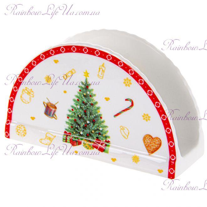 "Салфетница новогодняя 12 см ""Christmas tree"""