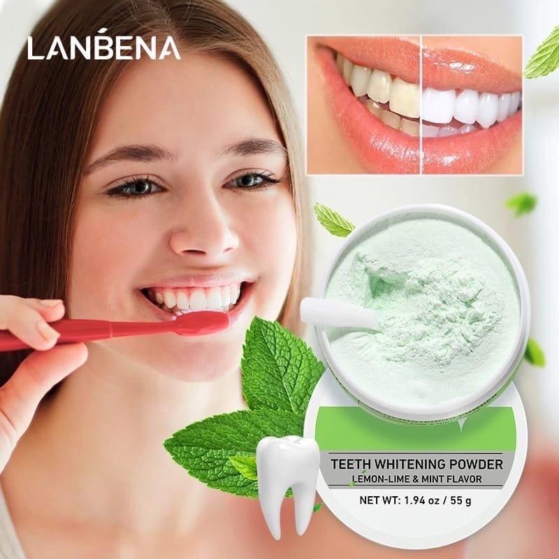 Порошок для отбеливания зубов LANBENA, 55мл (oiu280)