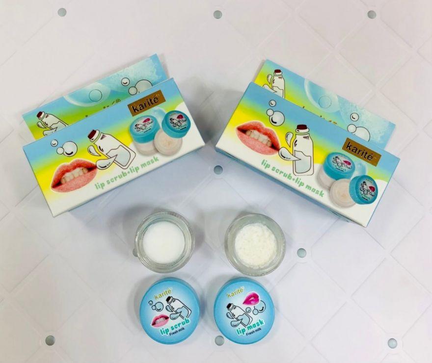 Маска + скраб для губ Karite Fresh Milk (YT150)