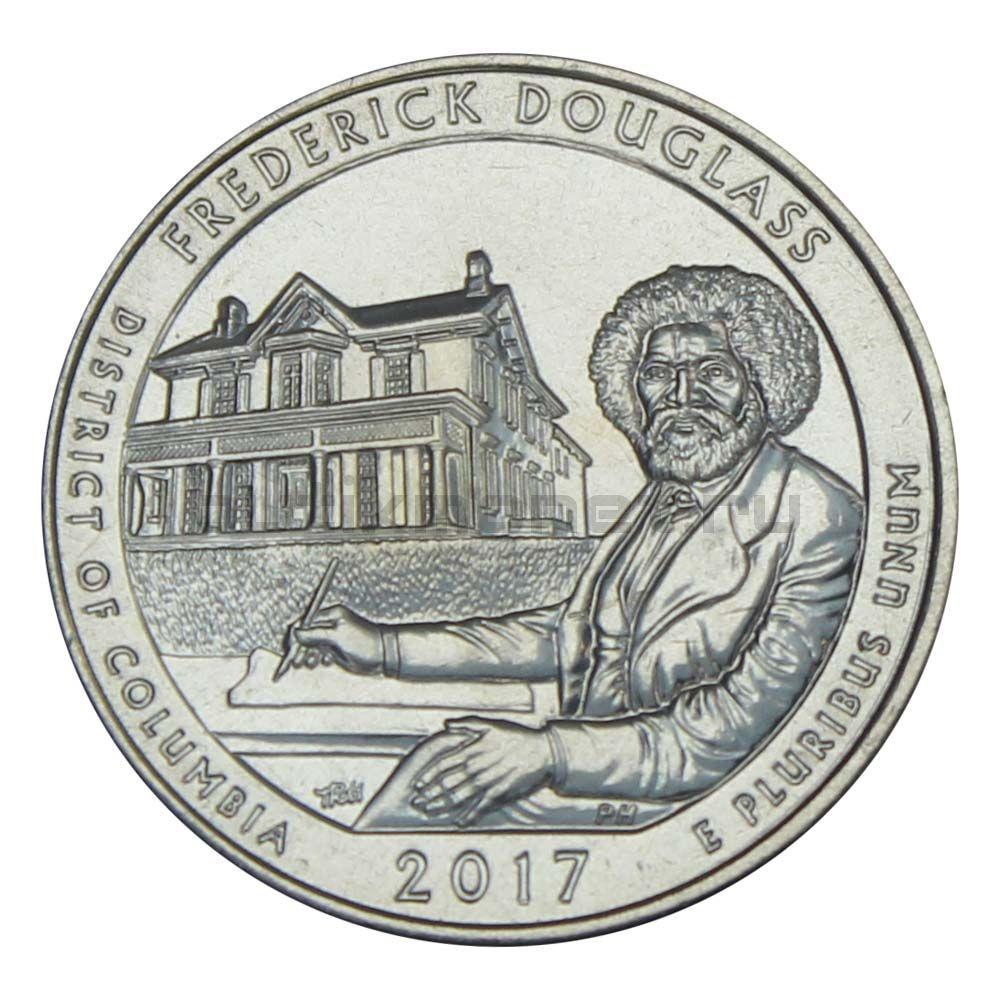 25 центов 2017 США Национальное историческое место Фредерика Дугласа S