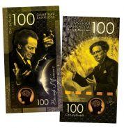 100 рублей — Вольф Мессинг. UNC