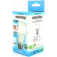 Лампа светоидная A60-11W-4000K-E27, SMARTBUY