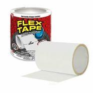 """Клейкая лента Flex белая 4х5"""""""