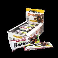 Протеиновый батончик Bombbar (Шоколад - фундук). 20гр. белка