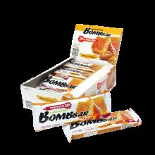 Протеиновый батончик Bombbar (Грецкий орех с мёдом). 20гр. белка