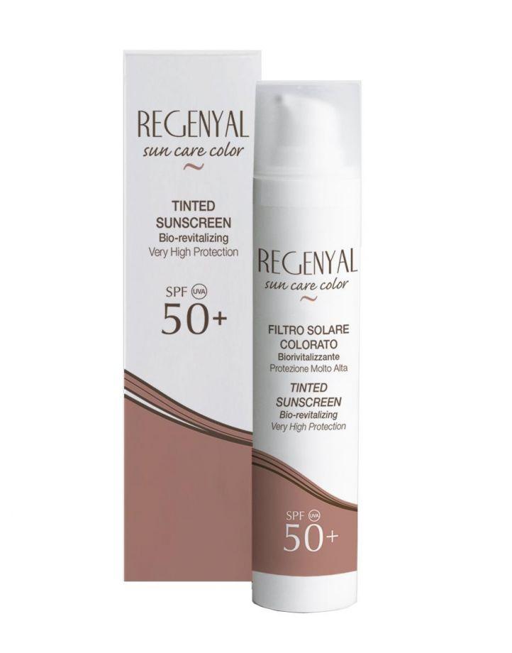 Крем регенерирующий, солнцезащитный  Regenyal Filtro Solare SPF 50+ Sweet Skin System (Свит Скин Систем) 50 мл