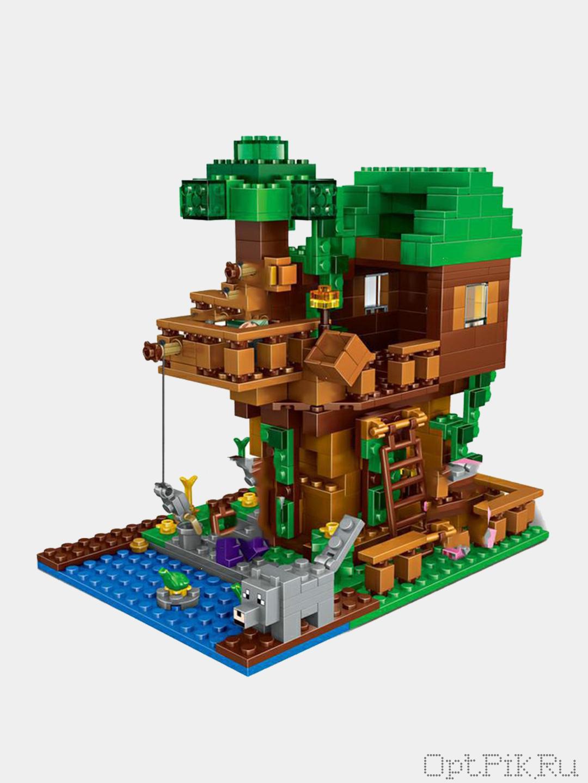 Домик на дереве Майнкрафт подарочная упаковка