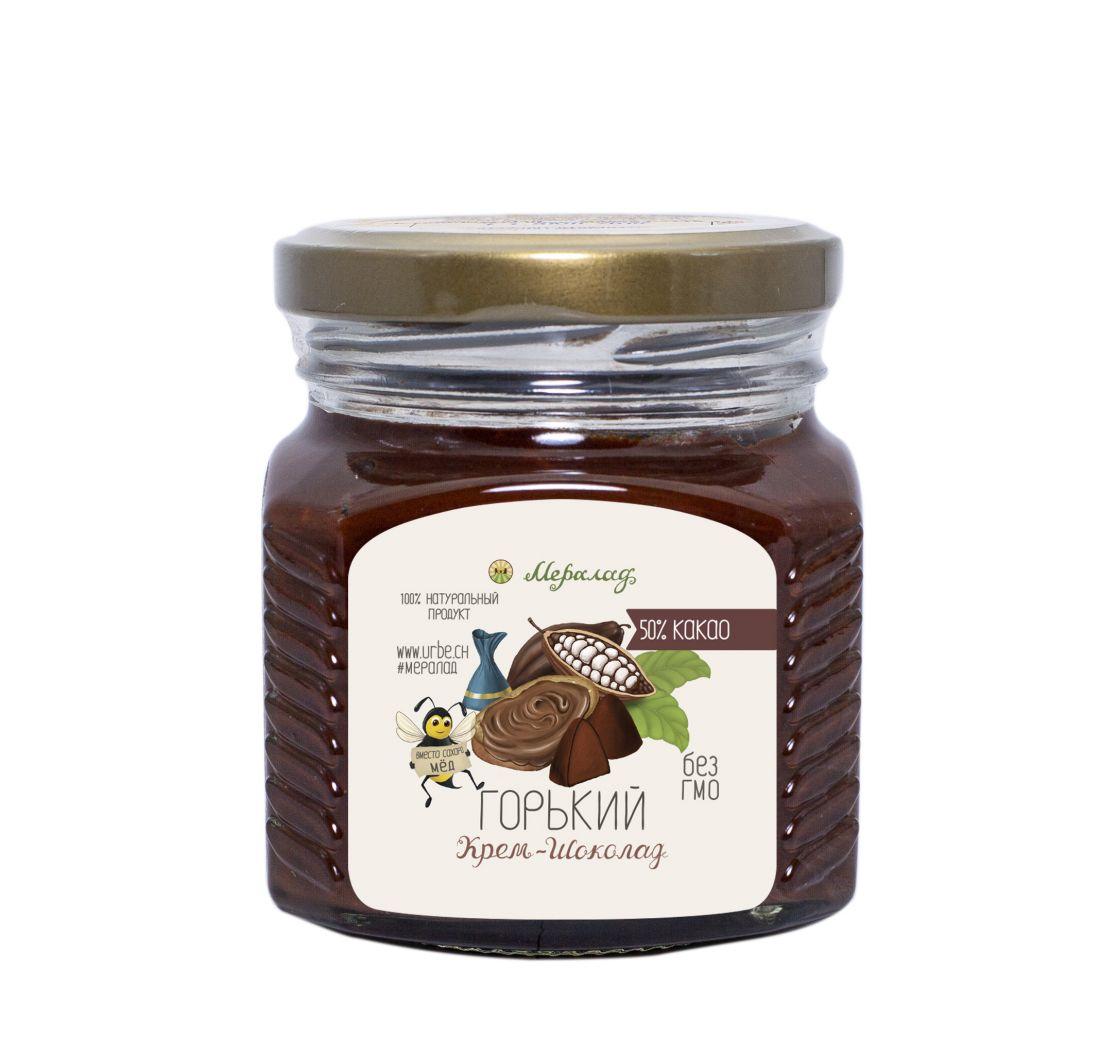 МЕРАЛАД Крем-шоколад горький - 230 гр