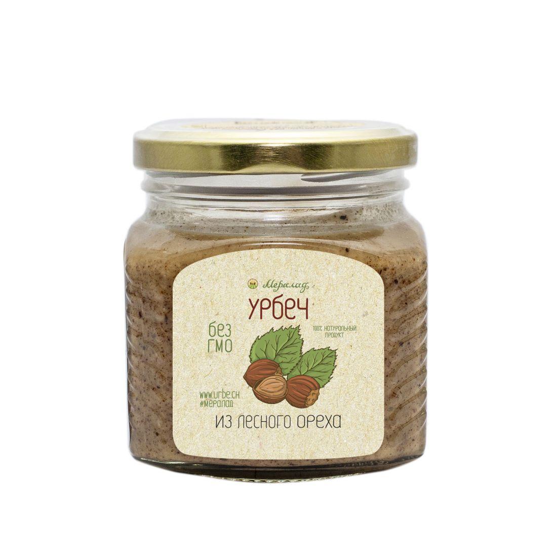 МЕРАЛАД Урбеч из лесного ореха (фундук) - 230 гр