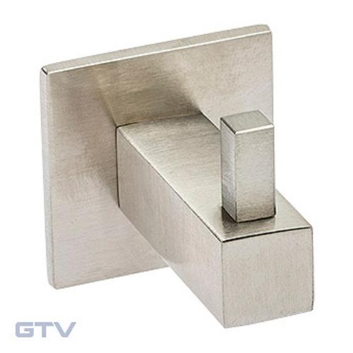 Крючок WS-QUADRO-14-06 шлифованная сталь