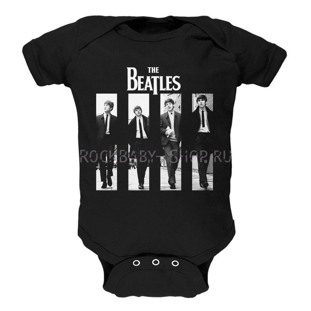 Детский боди The Beatles 68 размер