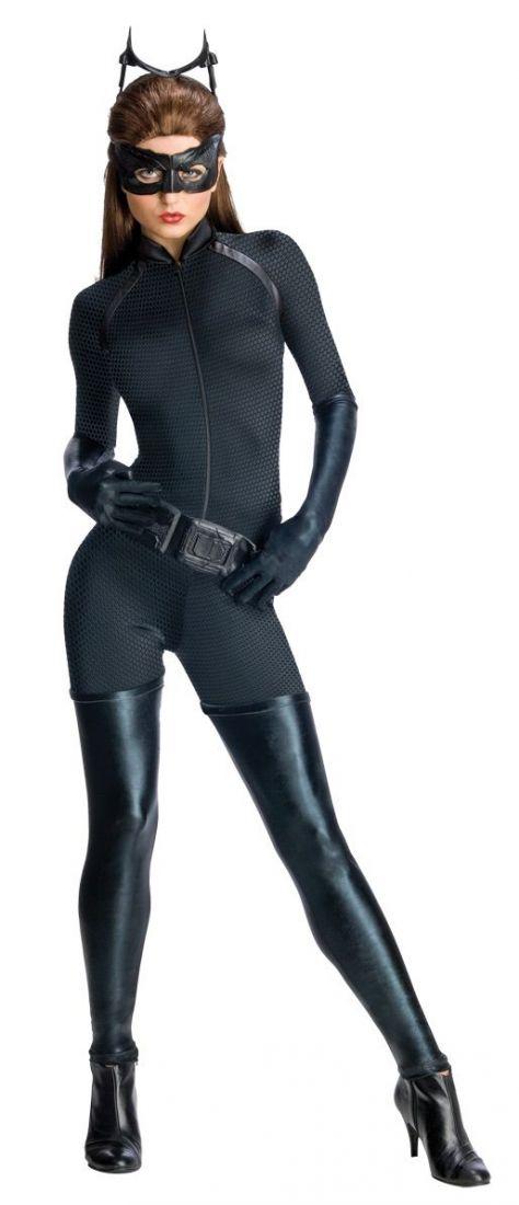 Костюм черной женщины-кошки