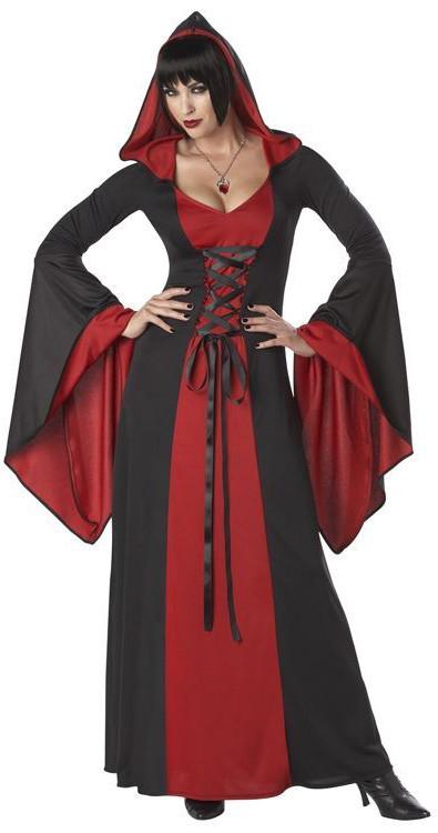Костюм красно-черной вампирши