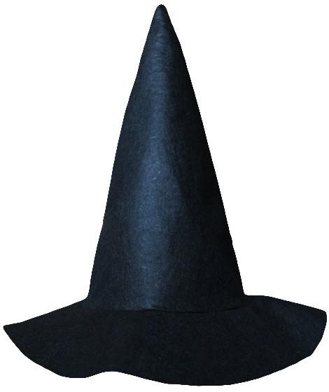 Шляпа ведьмы черная