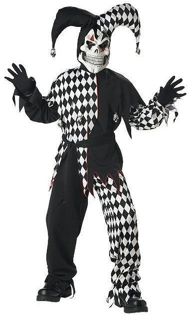 Детский костюм дьявольского шута