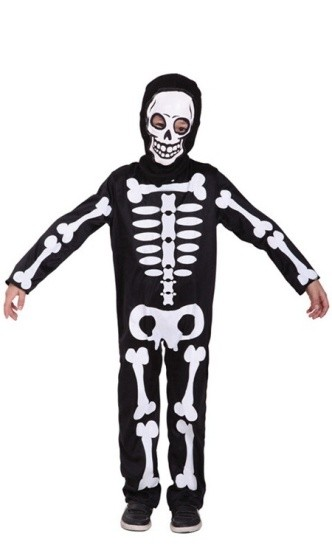 Детский костюм маленького скелета