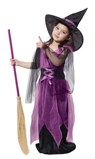 Детский костюм маленькой ведьмы