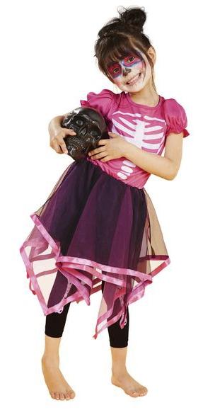 Детский костюм Розового скелета
