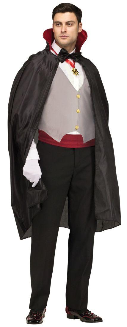 Костюм тёмного вампира