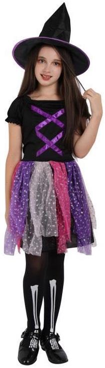 Детский костюм блестящей Ведьмы
