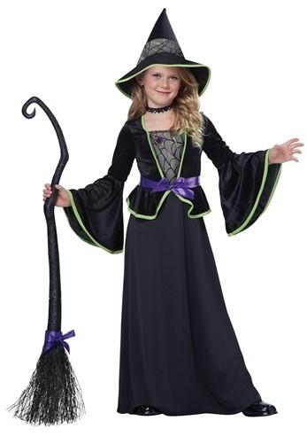 Детский костюм застенчивой ведьмы
