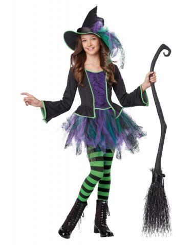Детский костюм Нарядной ведьмочки