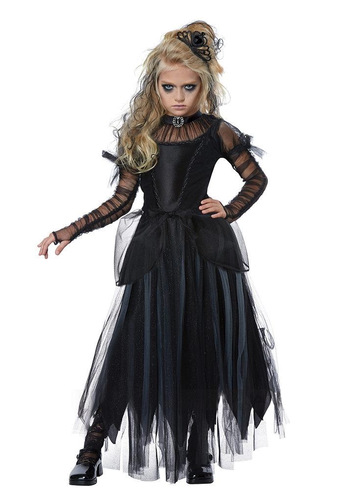 Детский костюм Черной принцессы