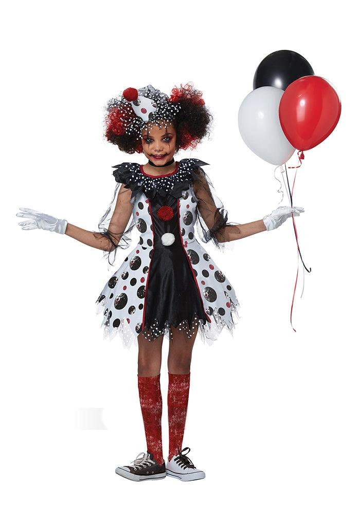 Детский костюм Жуткой клоунессы
