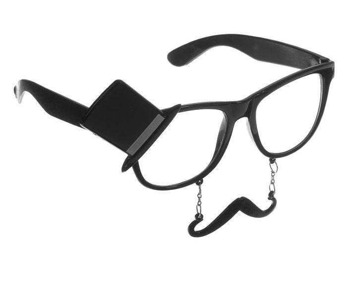 Карнавальные очки Джентльмен