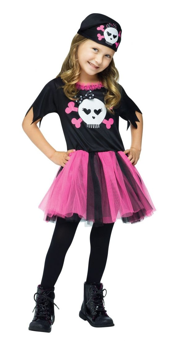 Детский костюм милашки пиратки