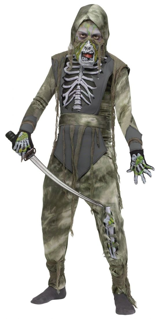 Детский костюм зомби ниндзя