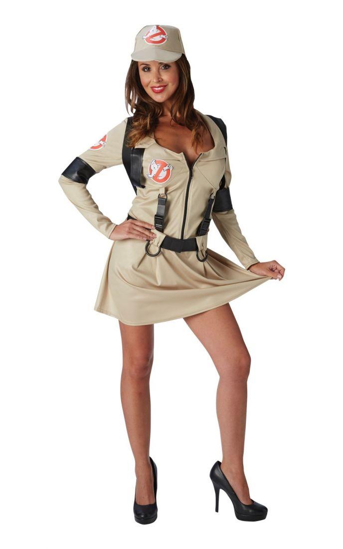 Женский костюм Охотницы за привидениями