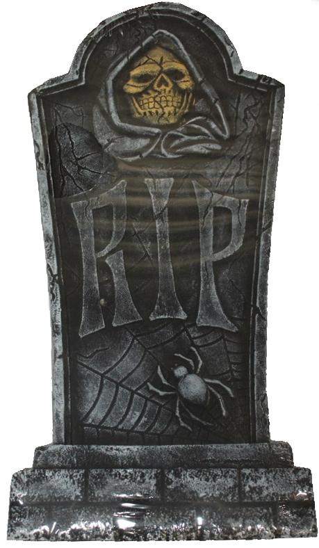 Декоративное надгробие RIP