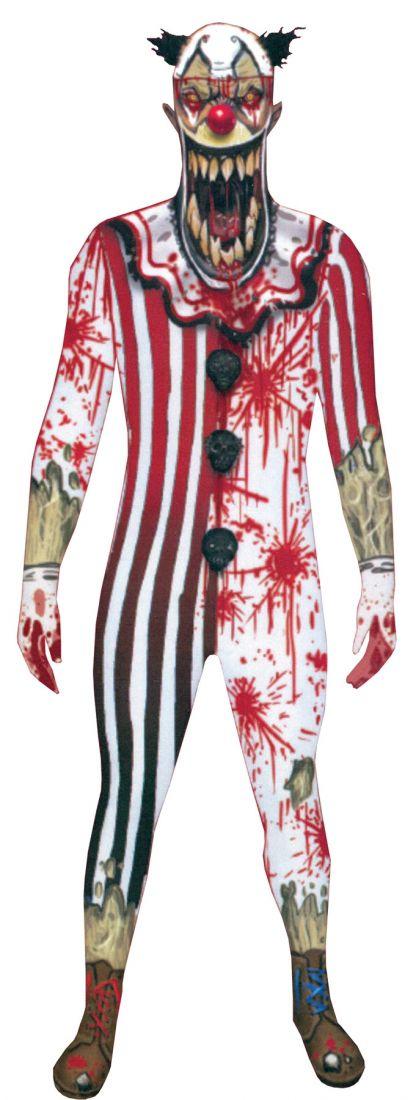 Взрослый костюм Страшного клоуна