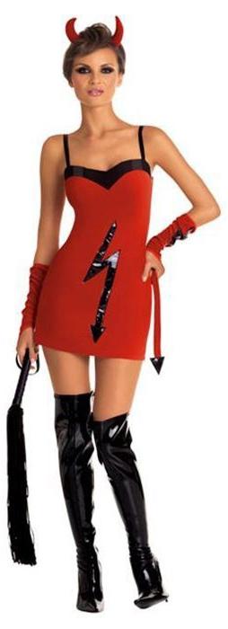 Красное платье чертовки