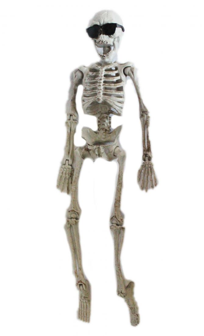 Фигурка Скелет в очках